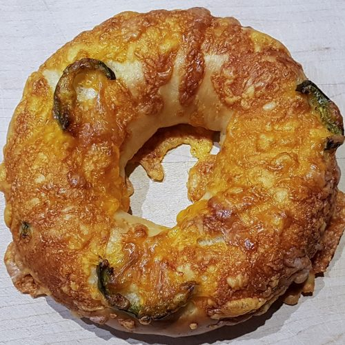 OhBagel Jalapeno Cheddar Cheese Vegan available